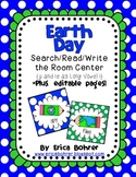 Earth Day Search/Read/Write the Room {Y and ie as long i} *Editable