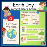 Earth Day Reading Center and Booklet
