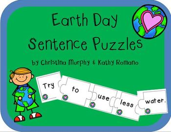 Earth Day Sentence Puzzles