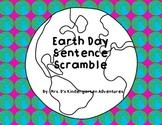 Earth Day Sentence Scramble Freebie!