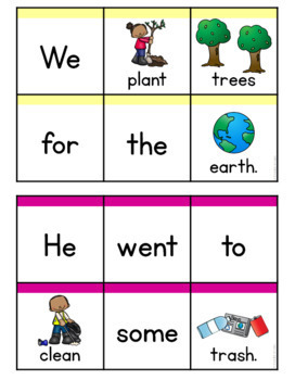 Earth Day Sentence Scramble