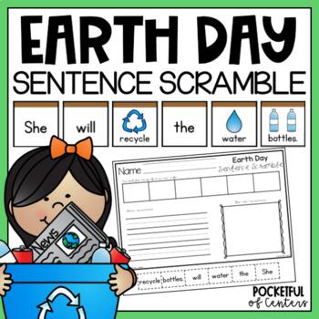 Earth Day Sentence Scramble