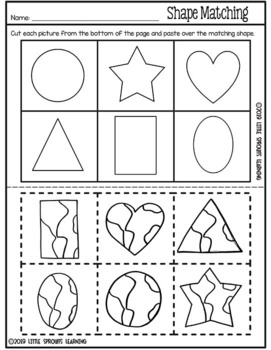 Earth Day Shapes and Activities