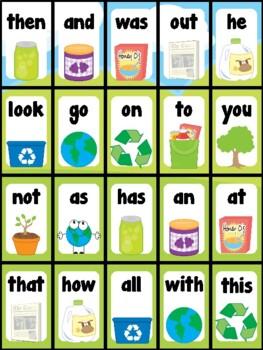 Earth Day Sight Word Bingo