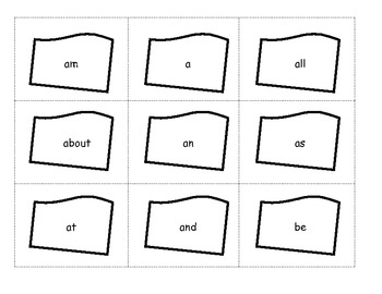 Earth Day Sight Word Game