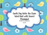 Earth Day Sight Word Hunt!  Write the Room with Secret Messages!