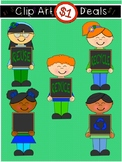 Earth Day Sign Kids Dollar Deal Clip Art ~Reuse ~Reduce ~Recycle