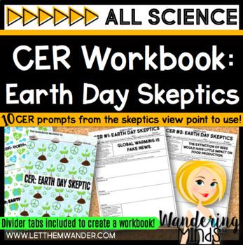 Earth Day Skeptic CER Workbook