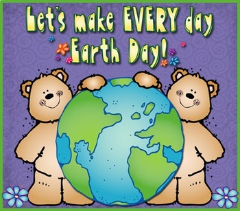 Earth Day Smiles Clip Art Download