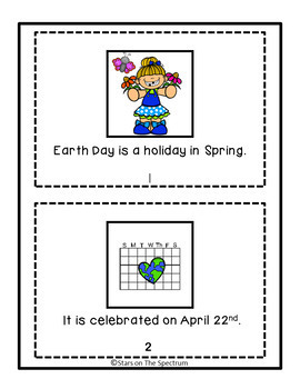 Earth Day Social Story and Social Skills Autism