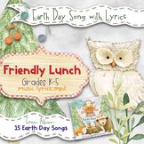 Earth Day Song: Friendly Lunch (Mp3, Lyrics, Karaoke Video & Sheet Music)
