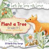 Earth Day Song: Plant a Tree (Mp3, Lyrics, Karaoke Video & Sheet Music)