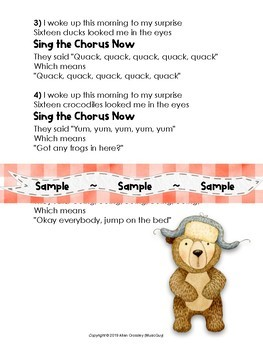 Earth Day Song: Sixteen Bears (Mp3, Lyrics, Karaoke Video & Sheet Music)