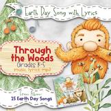 Earth Day Song: Through the Woods (Mp3, Lyrics, Karaoke Video & Sheet Music)