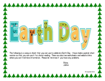 Earth Day Song/Chant and More