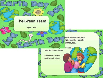 Earth Day - Songs Poem Activities Printable Books - Dr. Jean Feldman