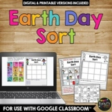 Earth Day Sort Activity Reduce, Reuse, and Recycle Worksheet