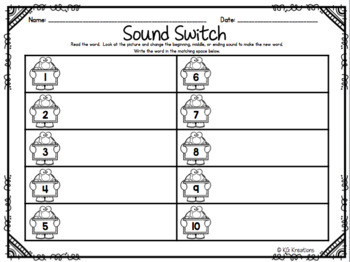 Earth Day Sound Switch