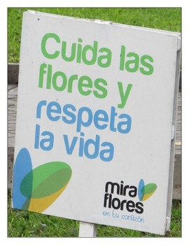 Earth Day Spanish Reading Activity