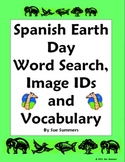 Spanish Earth Day Word Search and Vocabulary List