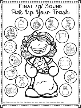 Earth Day Speech Sound Worksheets- No Prep