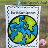 Earth Day Speech Therapy Craft {Articulation Language Phonemic Awareness}