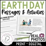 Earth Day Speech and Language Packet