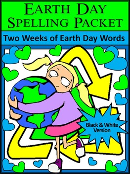 Earth Day Spelling Activity Packet