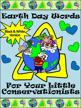 Earth Day Worksheets: Earth Day Spelling & Earth Day Words Bundle