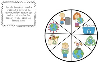 Earth Day Spin, Graph, and Analyze Activity