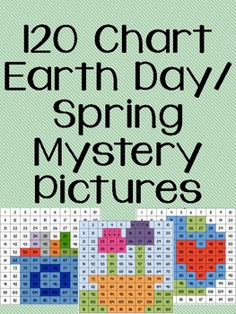 Earth Day/Spring 120 Chart Mystery Pictures