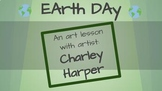 Earth Day Art Project, Spring, April, Discussion, Bird, Charley Harper