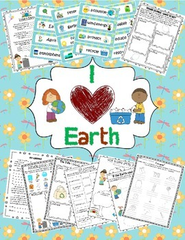 Earth Day & Spring Package (Word Wall and 10 Earth Day & E