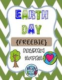 Earth Day Storyboard Template - {FREEBIE}