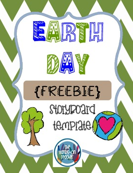 Earth Day Storyboard Template - {FREEBIE}