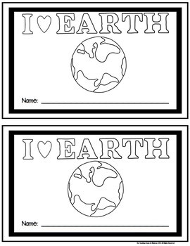 Earth Day Student Booklet {FREE}