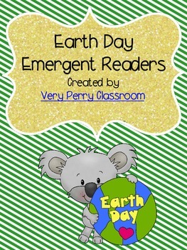 Earth Day Student and Teacher Emergent Reader