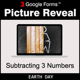 Earth Day: Subtracting 3 Numbers - Google Forms Math Game