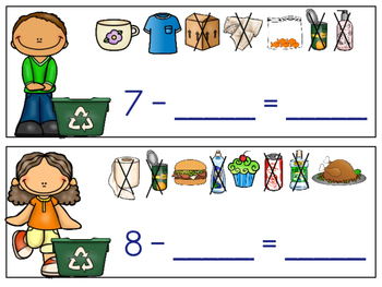 Earth Day Subtraction Center