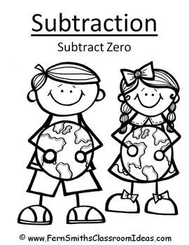 Earth Day Math Six Quick and Easy to Prep Subtraction Center Games Dollar Deal