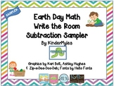 Earth Day Subtraction Sample Write the Room