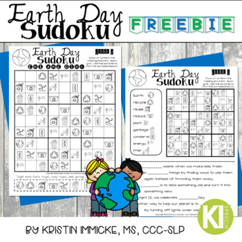 Earth Day Sudoku - No Prep