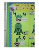 Earth Day Super Hero Classroom Decor