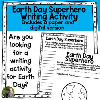Earth Day Superhero FREEBIE!
