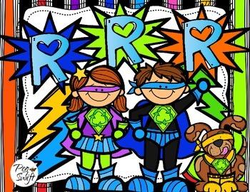 Earth Day Superheroes ~ French ~ Jour de la Terre