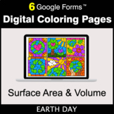 Earth Day: Surface Area and Volume - Google Forms | Digita