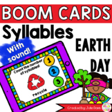 Earth Day Syllable Counting Digital Game Boom Cards