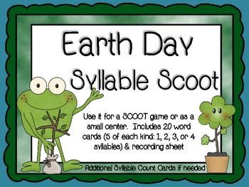 Earth Day Syllable Scoot