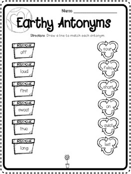 Earth Day Synonyms and Antonyms