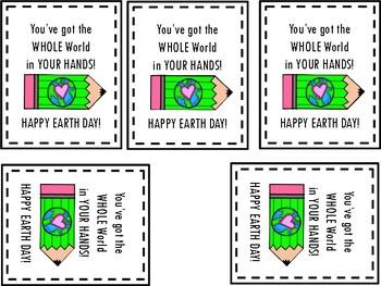 Earth Day Tag FREEIE
